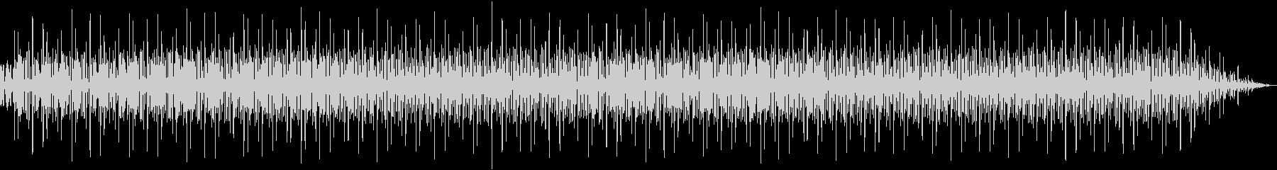 電子音がコミカルなエレクトロミュージックの未再生の波形