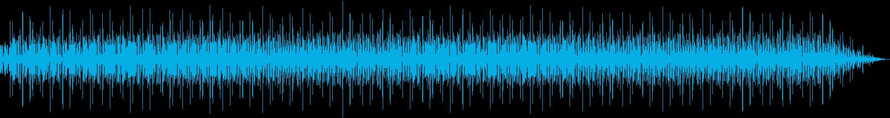 電子音がコミカルなエレクトロミュージックの再生済みの波形