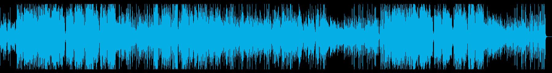 ジャズ 四重奏の再生済みの波形