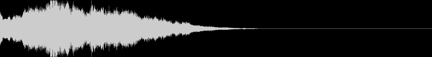 クリスマス ジングルベル キラキラ 02の未再生の波形