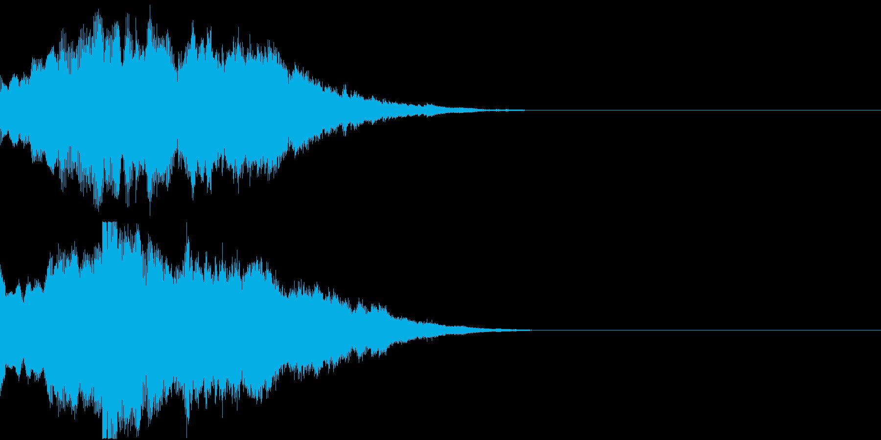 クリスマス ジングルベル キラキラ 02の再生済みの波形