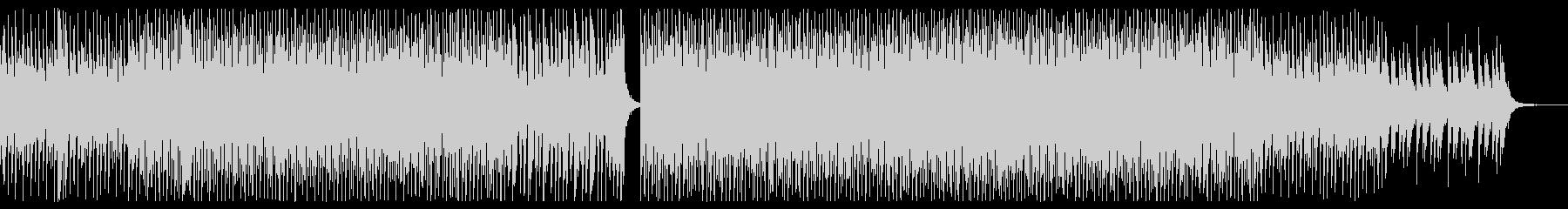 平成初期を連想させる定番ディスコサウンドの未再生の波形