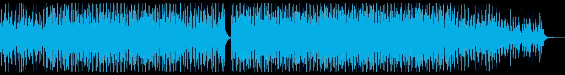 平成初期を連想させる定番ディスコサウンドの再生済みの波形