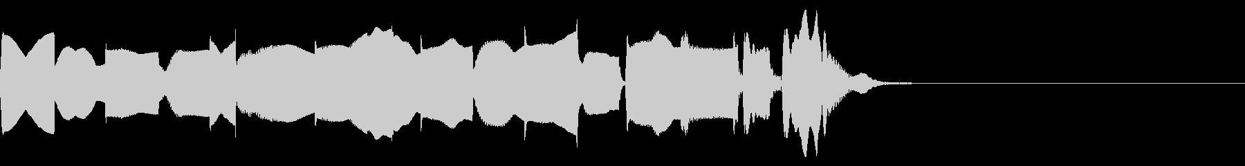 キャラクターが混乱したときの通知音の未再生の波形