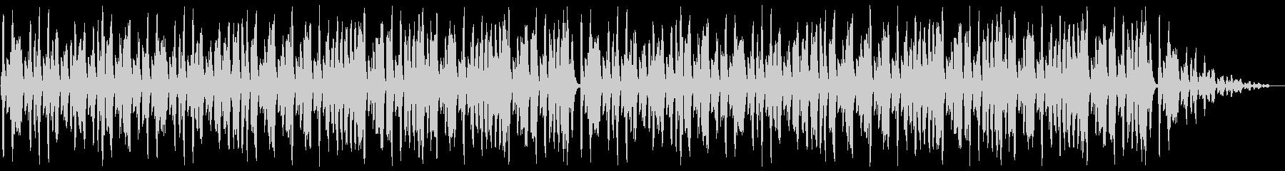 リコーダーとピアノが軽快な日常系BGMの未再生の波形