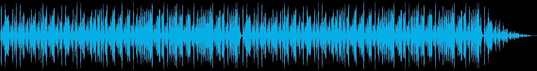 リコーダーとピアノが軽快な日常系BGMの再生済みの波形