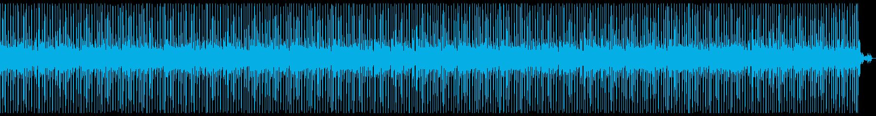 スマートシティなBGM_ほのぼの近未来感の再生済みの波形