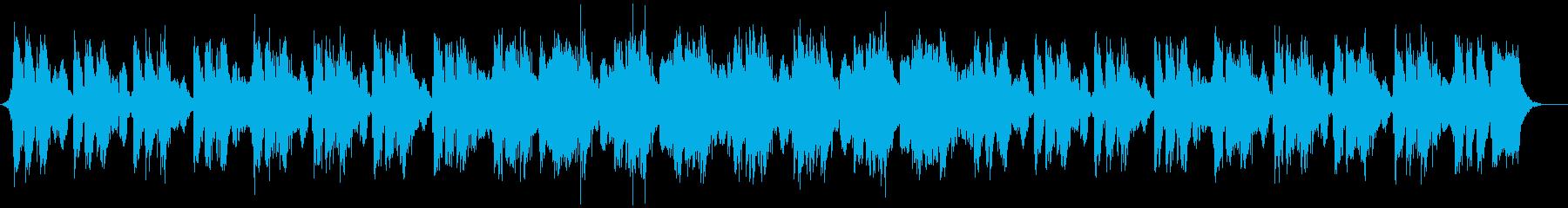 緊張感のあるEpicオーケストラ/速めの再生済みの波形