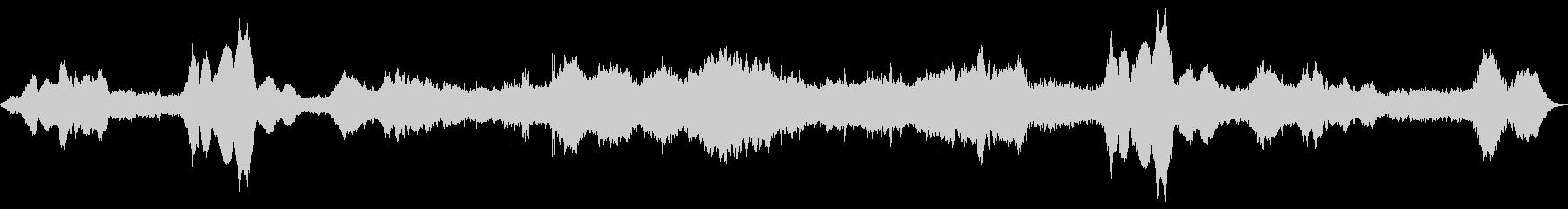 ドローン 悲しい確実性01の未再生の波形