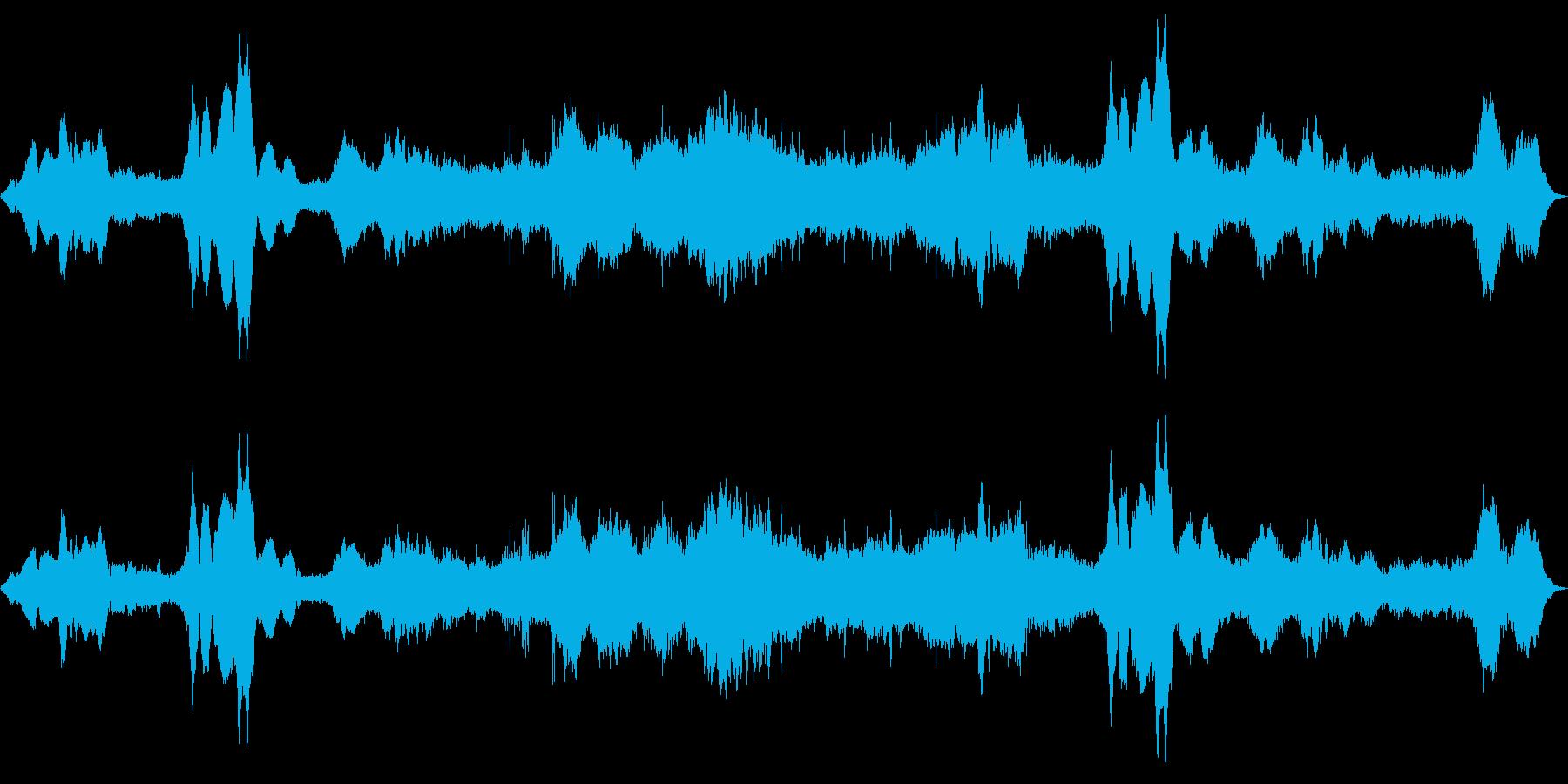 ドローン 悲しい確実性01の再生済みの波形