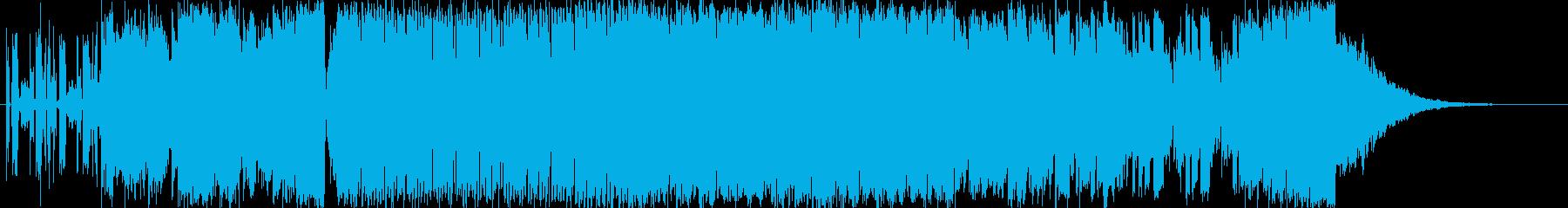 OPや入場SEに使えるEDMの再生済みの波形