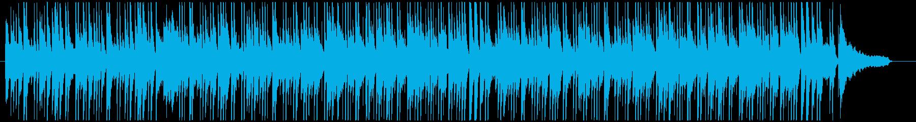 オシャレなラウンジ風のボサノバ(長め)の再生済みの波形