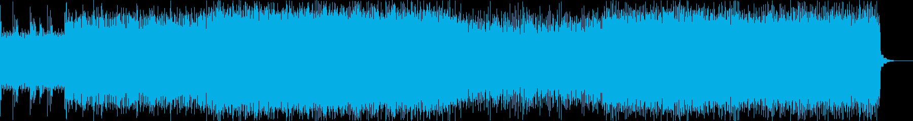 力押しスラッシュメタルの再生済みの波形