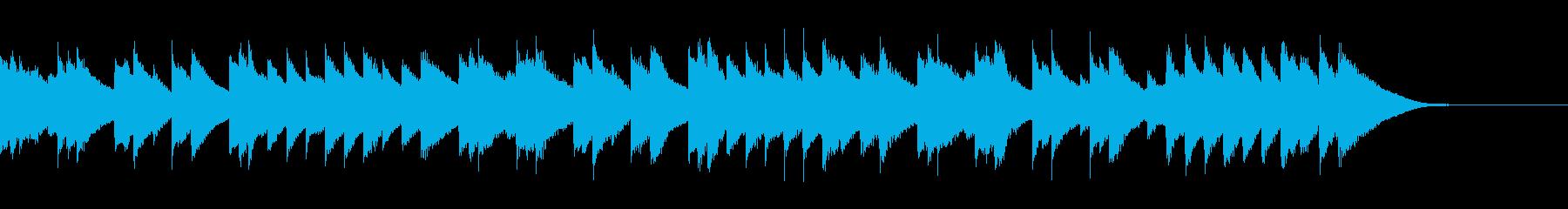 クリスマス ピアノ 木琴 バイオリ...の再生済みの波形