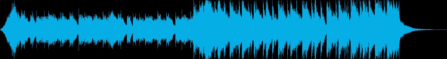 洋楽トラップヒップホップパリピEDMcの再生済みの波形