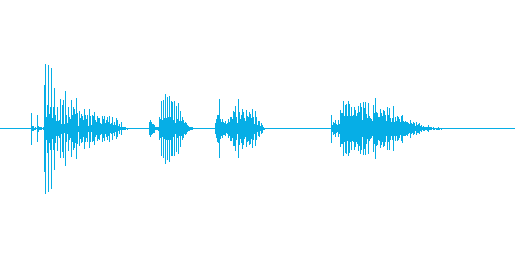 Did you want to meet (Woman)'s reproduced waveform