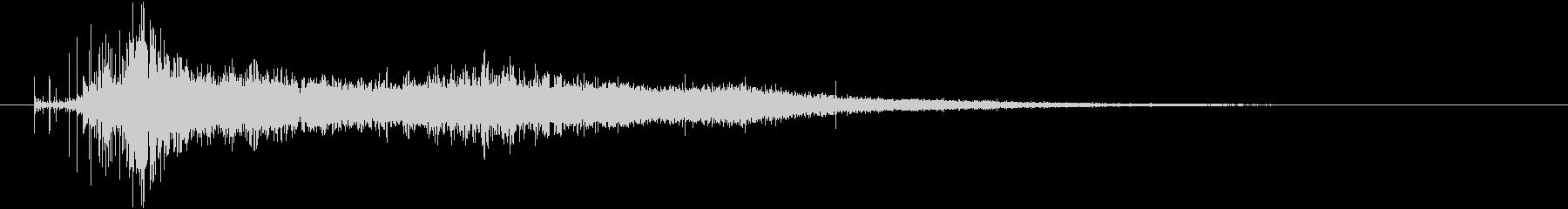 トランジション 炎12の未再生の波形