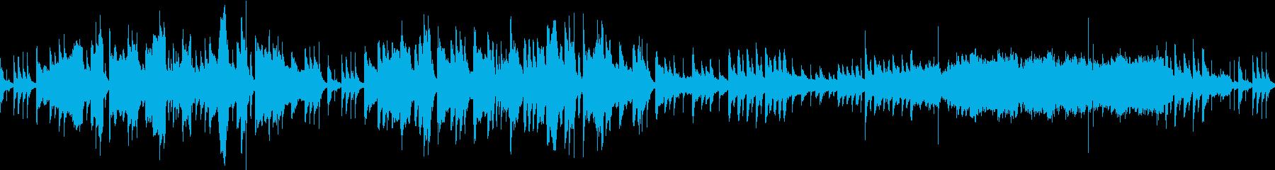 中華風の素朴なBGMの再生済みの波形