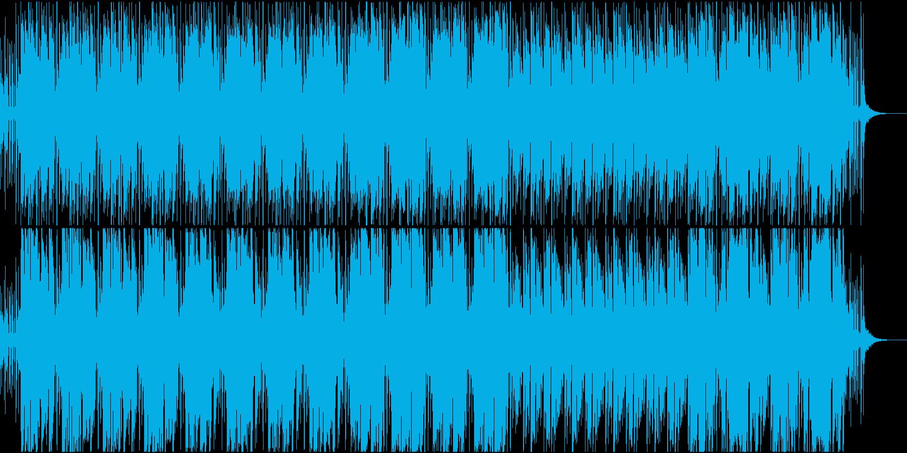 生サックス・お洒落で渋い軽快なジャズの再生済みの波形