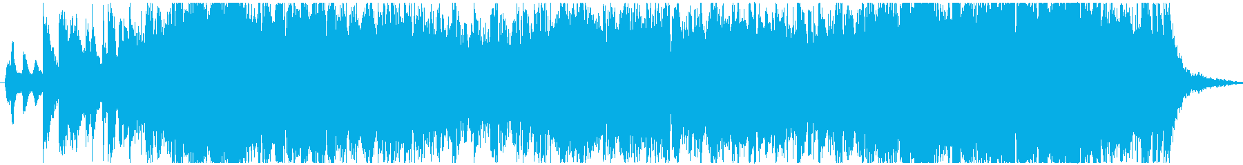 ダークで近未来を感じるメロディーの再生済みの波形
