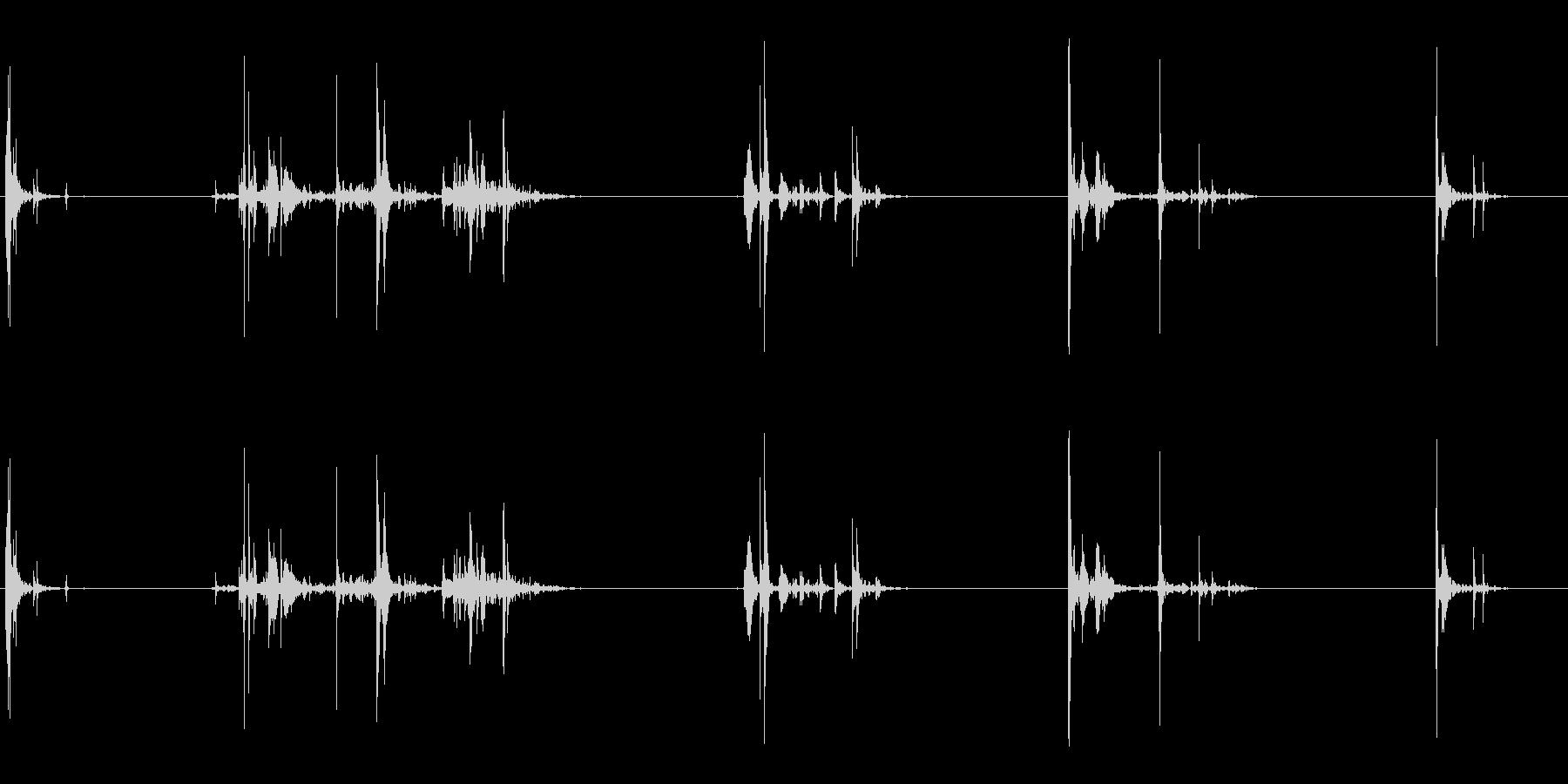 いくつかのシングルロックスインパク...の未再生の波形