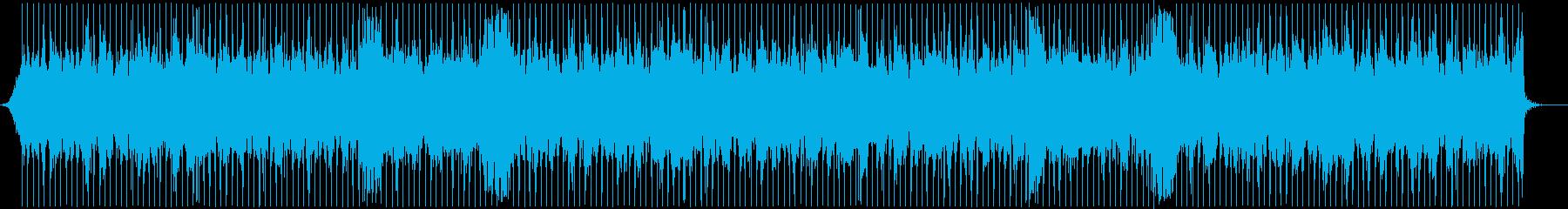 【プレイバック】oldFunk BGMの再生済みの波形