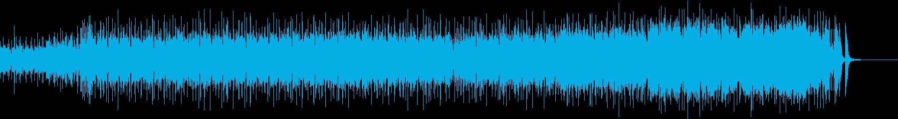 口笛とピアノのポップなロックの再生済みの波形