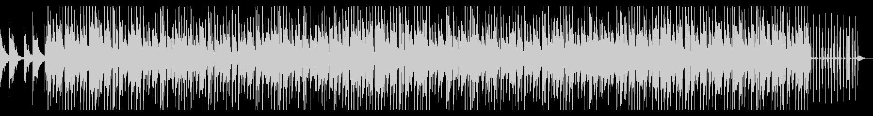 CM等に おしゃれなヒップホップ効果音無の未再生の波形