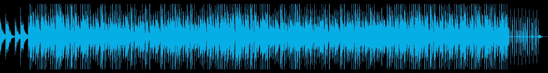 CM等に おしゃれなヒップホップ効果音無の再生済みの波形