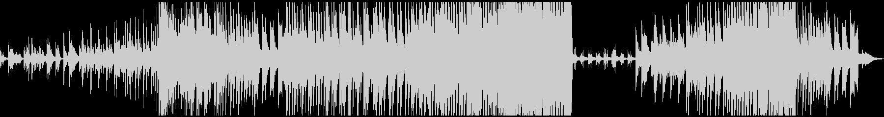 ピアノのみ 大音量版の未再生の波形