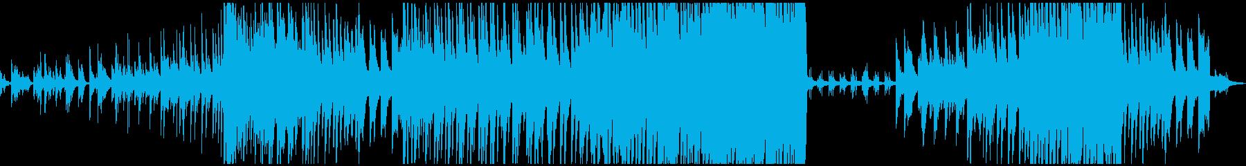 ピアノのみ 大音量版の再生済みの波形