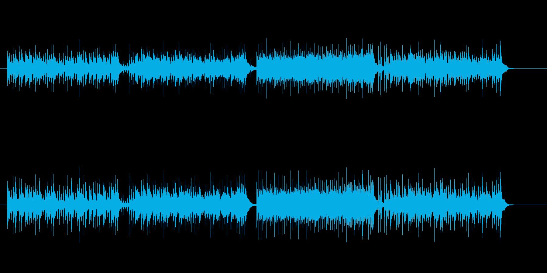 かわいい感じのジャパニーズ・ポップスの再生済みの波形
