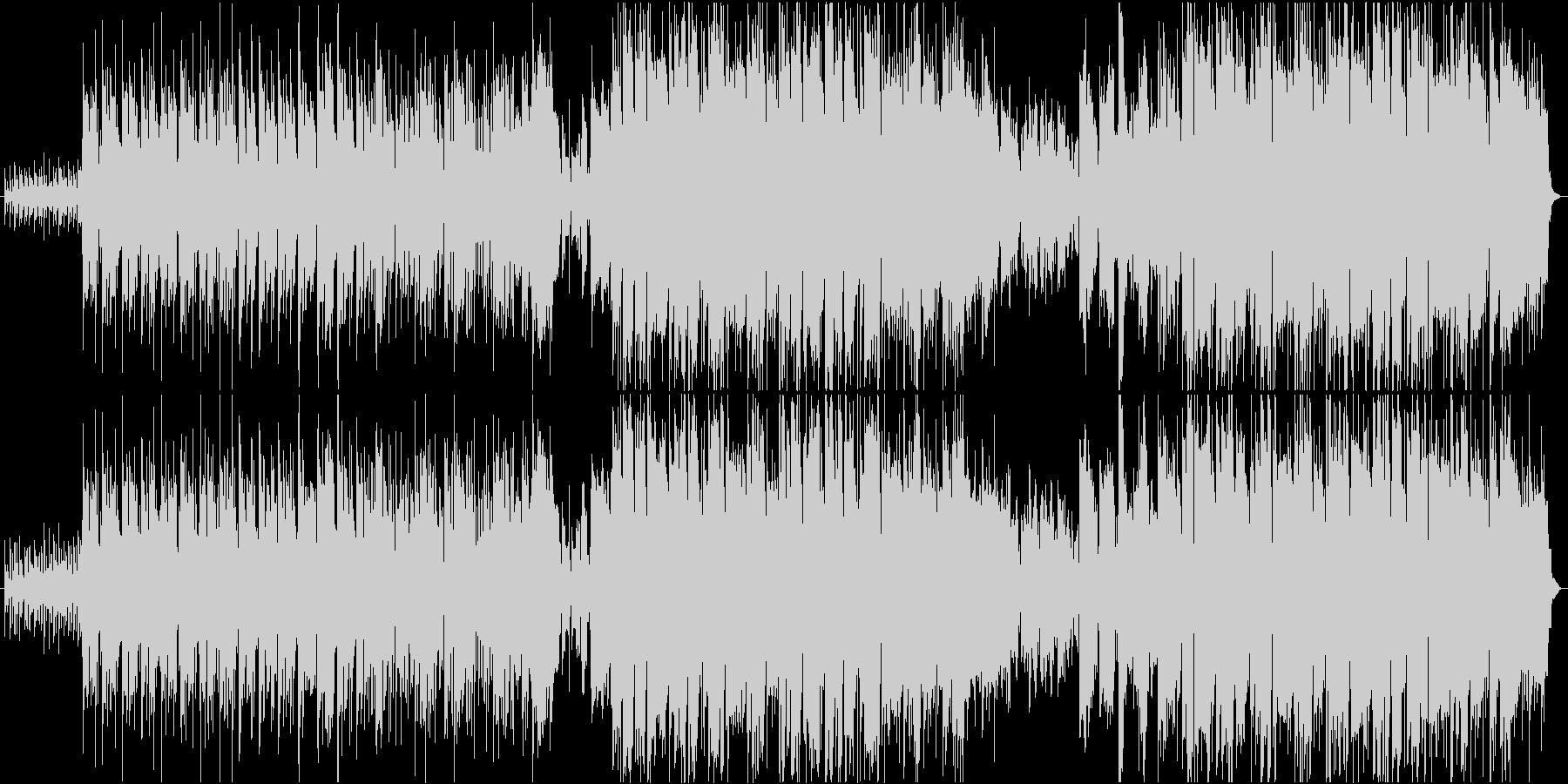 ピースフルな雰囲気のミディアムポップスの未再生の波形