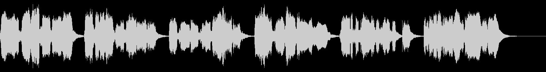 かごめかごめ(響2)【神秘的な少女】の未再生の波形