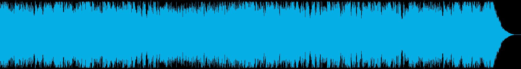 女性ボーカル・優しいウクレレの再生済みの波形