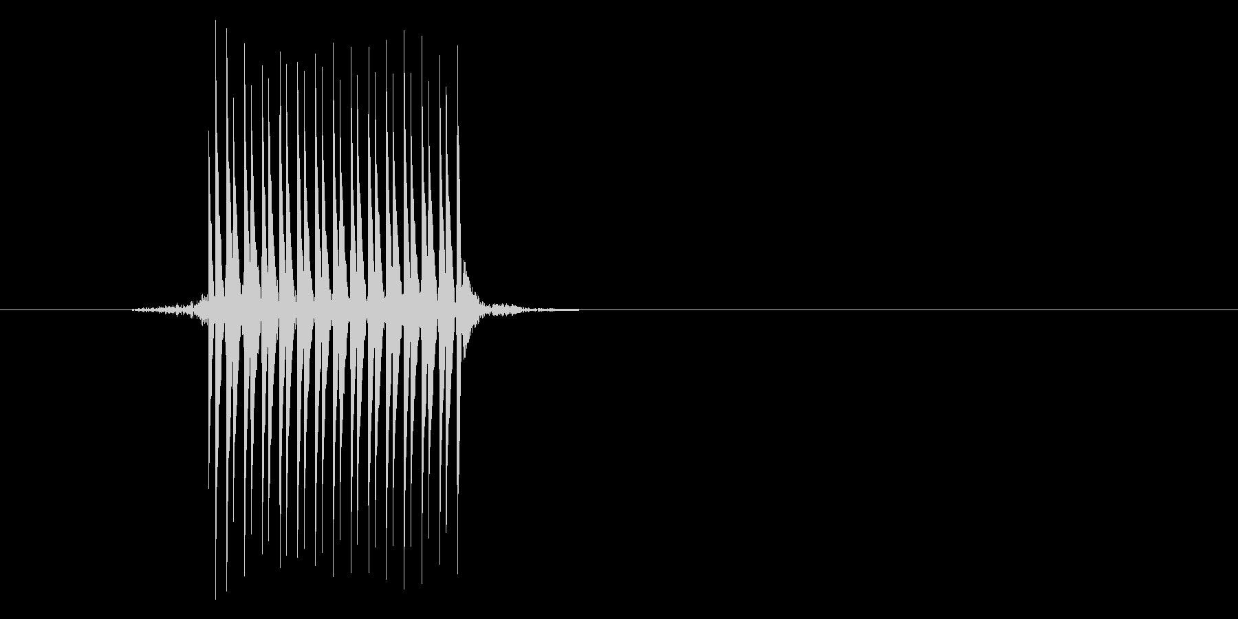ゲーム(ファミコン風)セレクト音_035の未再生の波形