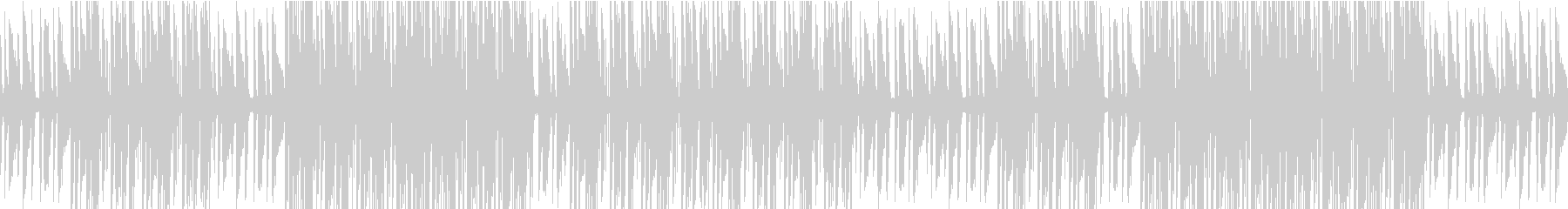 不安になるピアノのヒップホップの未再生の波形