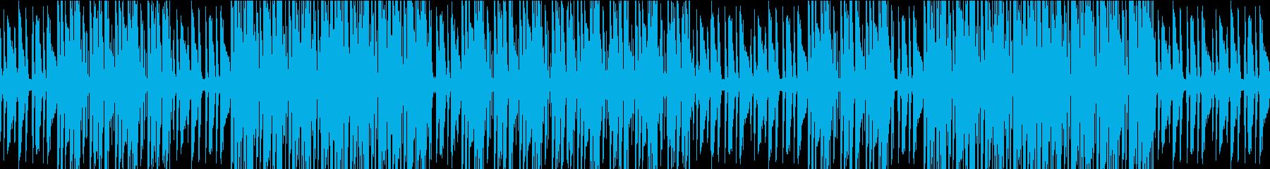 不安になるピアノのヒップホップの再生済みの波形