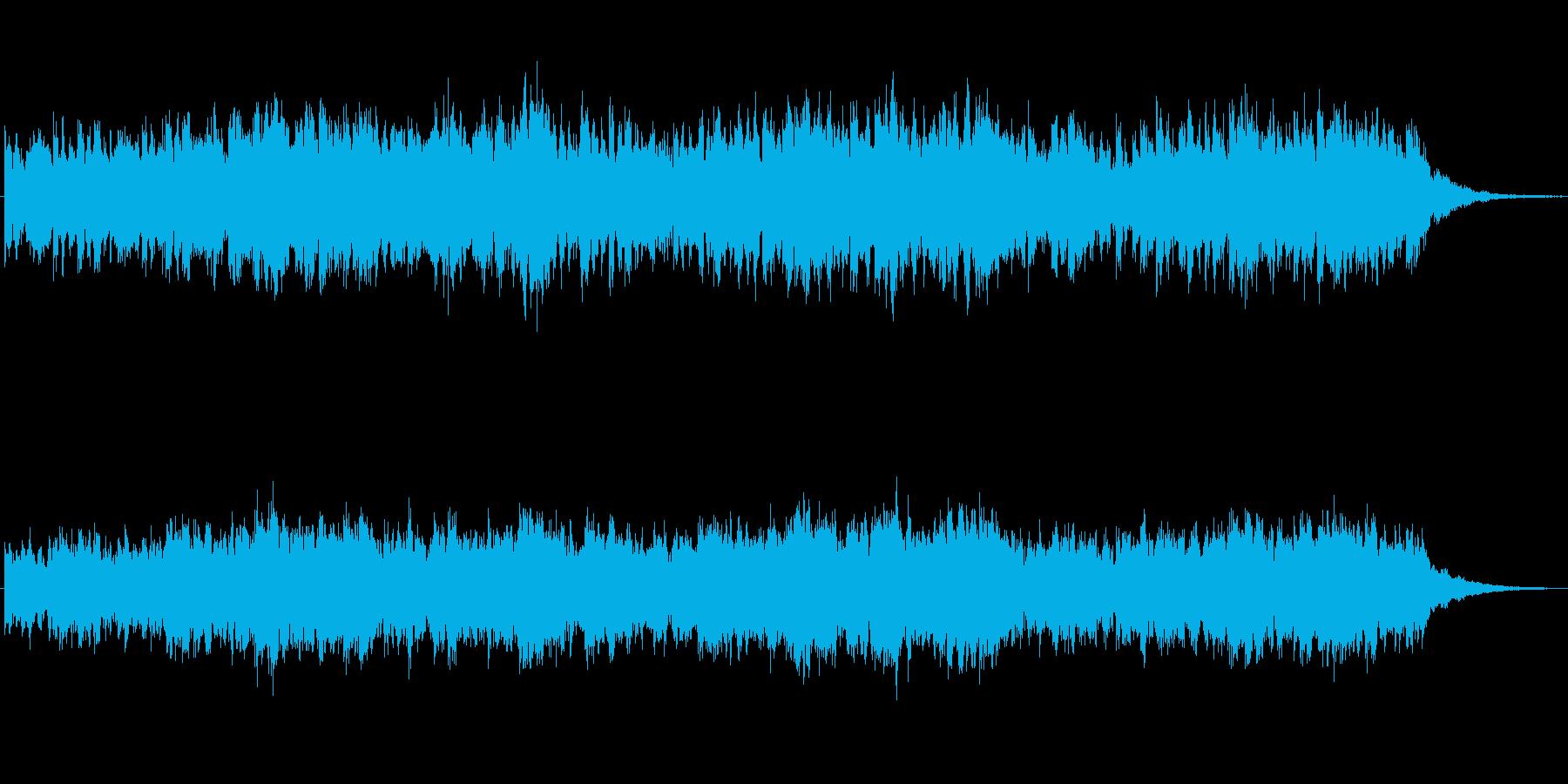 キラキラしたメルヘンチックなジングル3の再生済みの波形