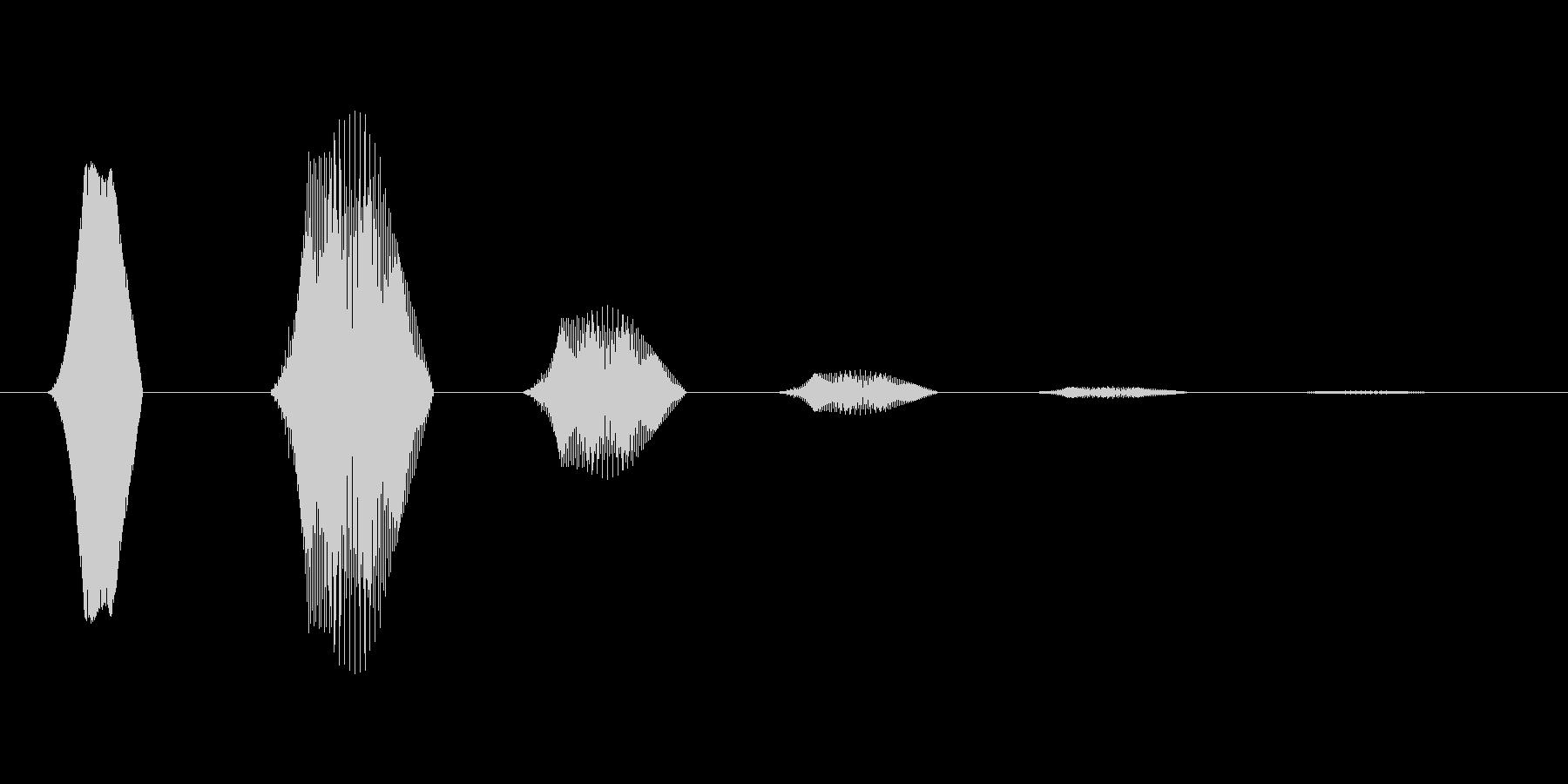 ファミコン風効果音 決定音系です 32の未再生の波形