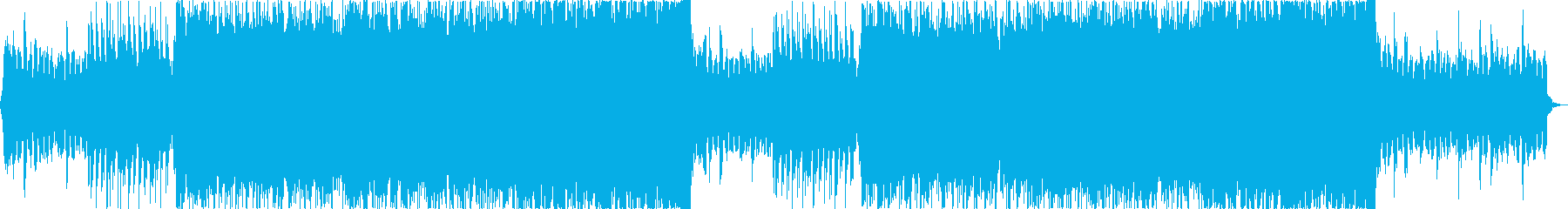 雄大壮大自然海夏EDMトロピカルハウスaの再生済みの波形