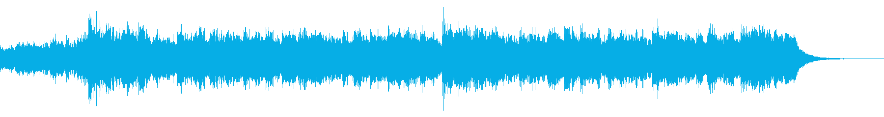 YAMATO メロディー無し_30secの再生済みの波形