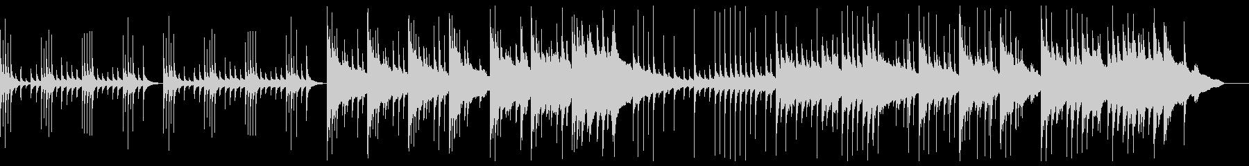 オルゴール中心の悲しいBGMの未再生の波形