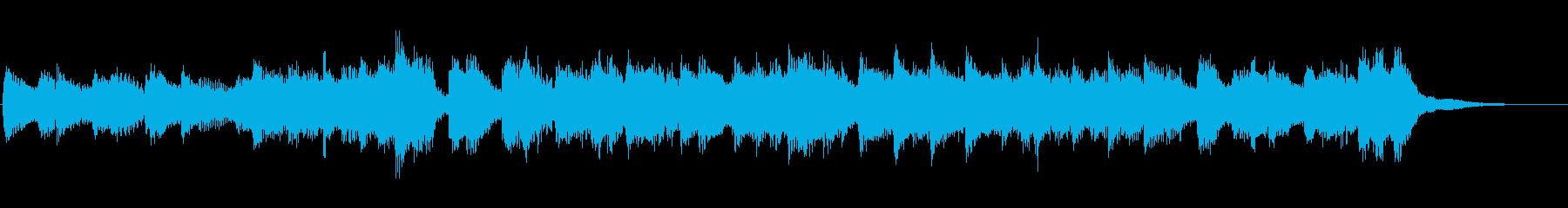 ピアノロックオーケストラ明るいジングルの再生済みの波形