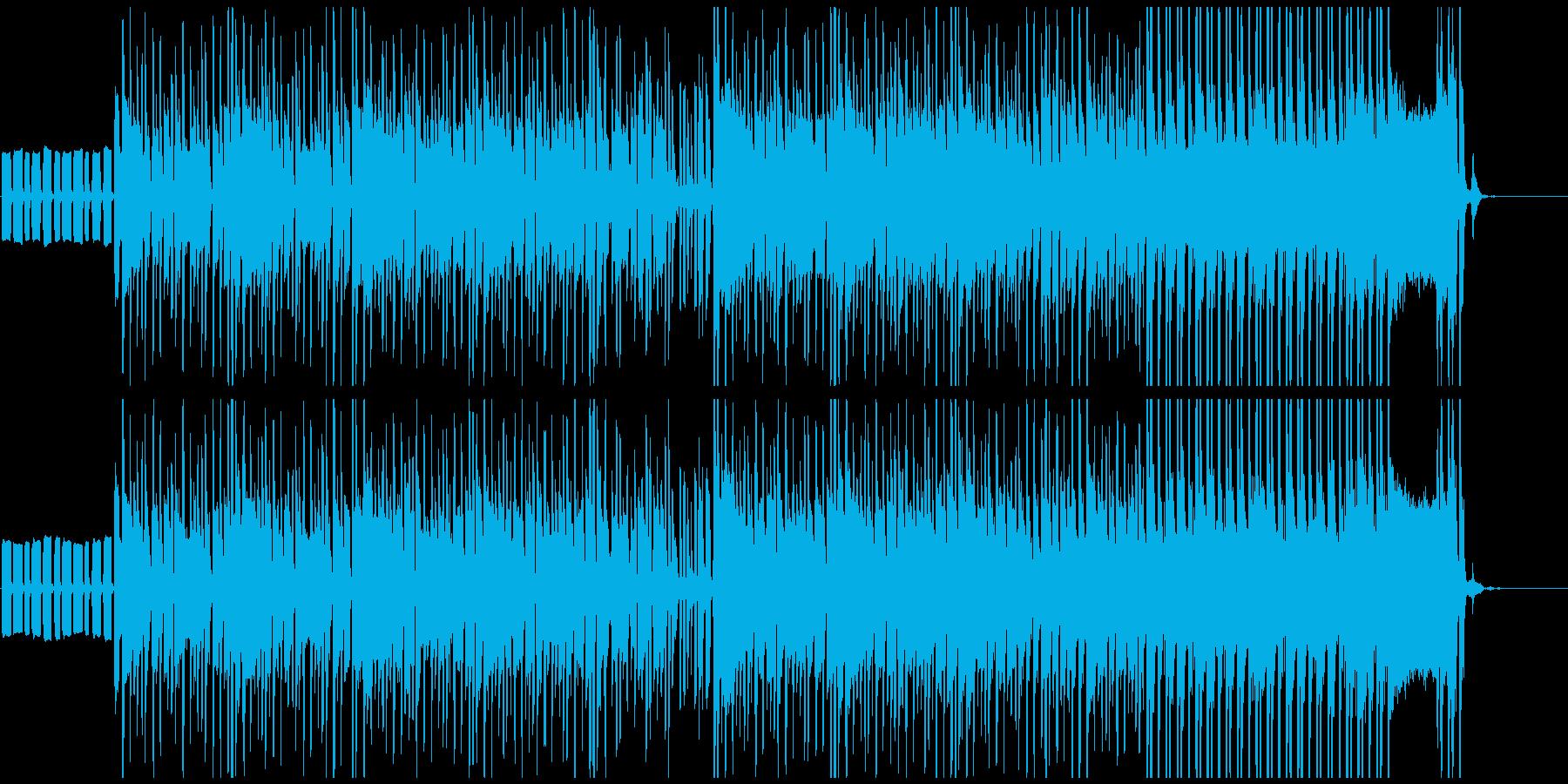 軽薄でテンション高めなラテン系 ショートの再生済みの波形