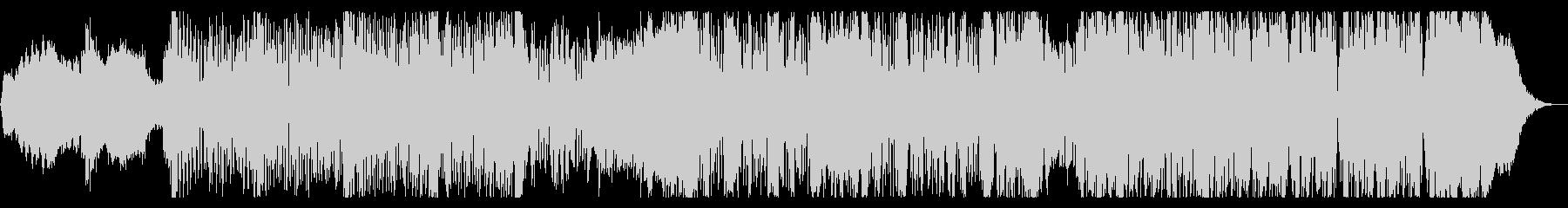 不思議なグリッチIDMの未再生の波形