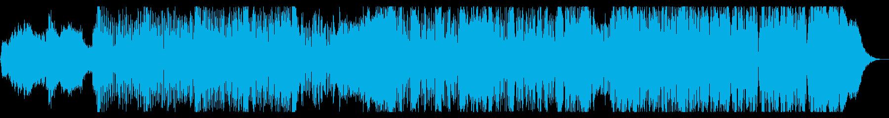 不思議なグリッチIDMの再生済みの波形