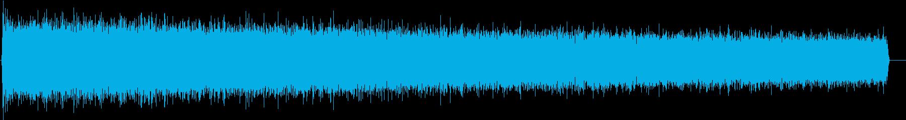 涙ガスキャニスター:放電、重い空気...の再生済みの波形