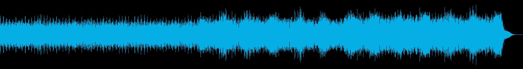 【ニュース系3】シンセ、無機質、坦々aの再生済みの波形