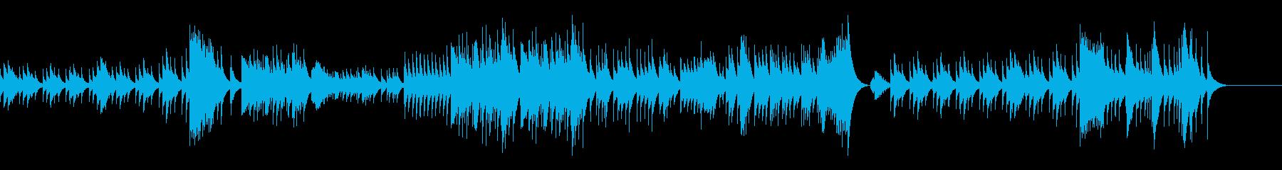 不気味なチェレスタ/ダークファンタジーの再生済みの波形